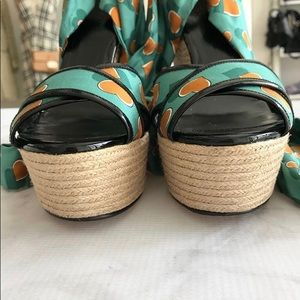 Gucci Shoes - Authentic Gucci wedges unworn